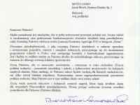 List od prezydenta RP