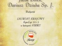 Nagroda Prezesa Agencji Rynku Rolnego