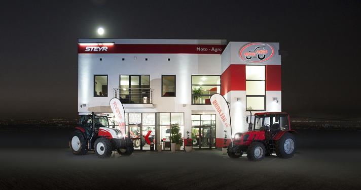 nowy budynek moto-agro