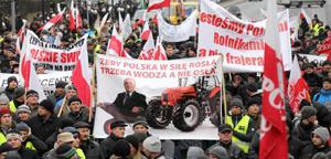 strajk rolników Porosły