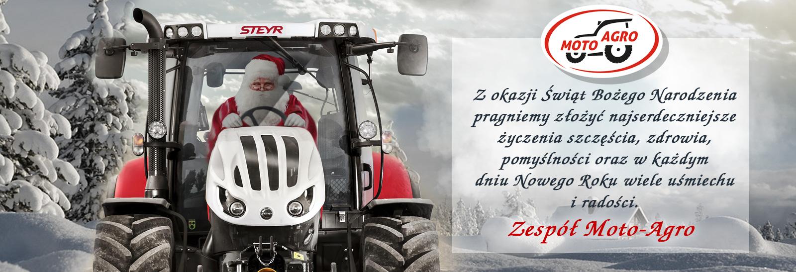 Życzenia świąteczne Moto-Agro